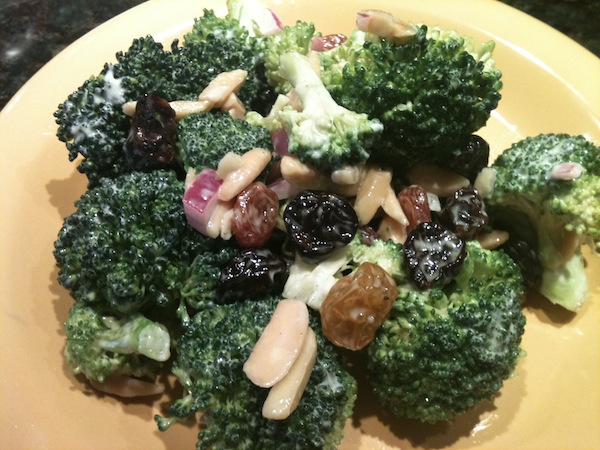 Broccoli Salad with Dried Tart Cherries