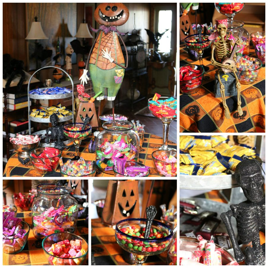 Each year for Halloween - I create a fun Halloween Candy Table. The kids love it! CeceliasGoodStuff.com