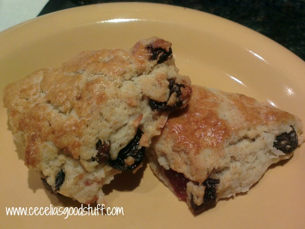Coconut Breakfast Scones