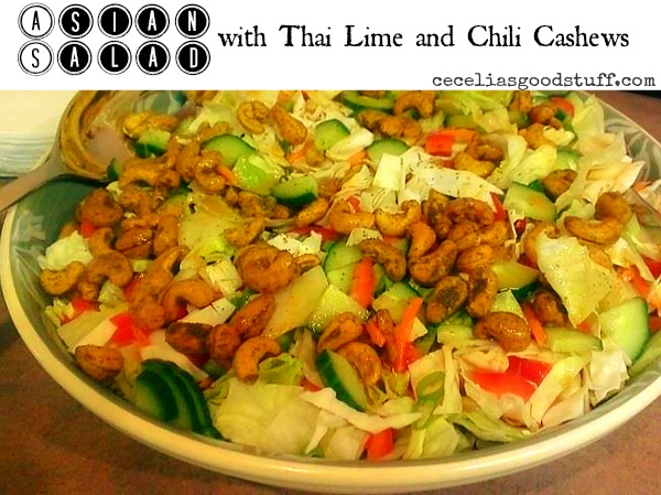 Asian Salad with Thai Lime & Chili Cashews