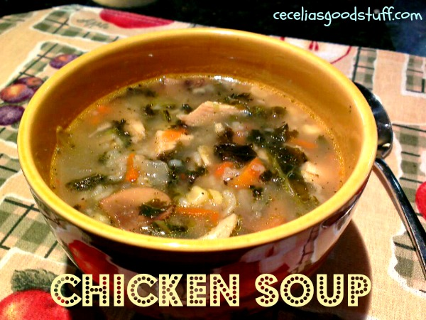 Hearty Chicken Soup with Kale