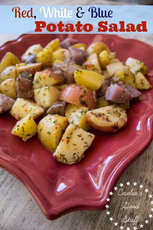 Tri-colored Potato Salad