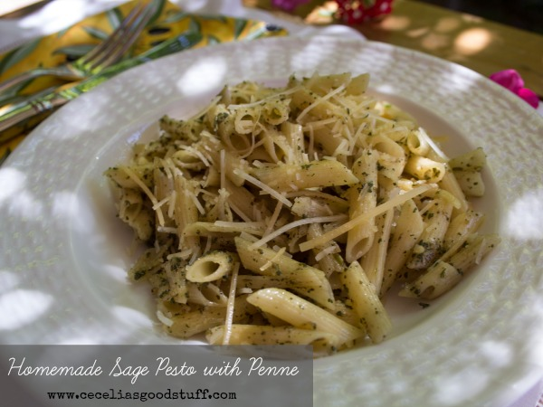 Homemade Sage Pesto