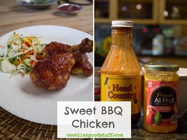 Sweet BBQ Chicken Recipe