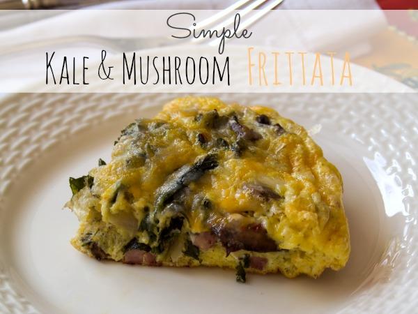 Kale & Mushroom Frittata