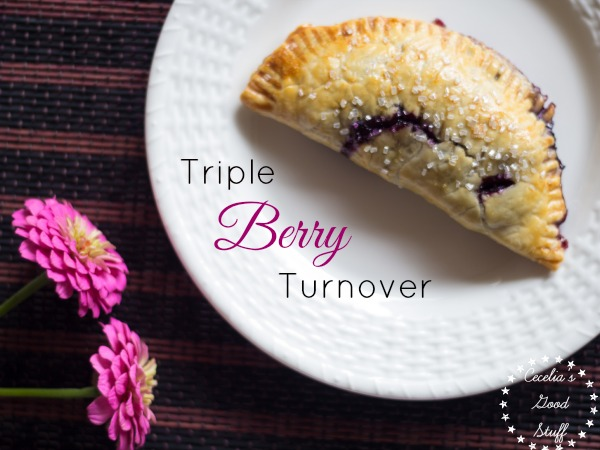 Triple Berry Turnover