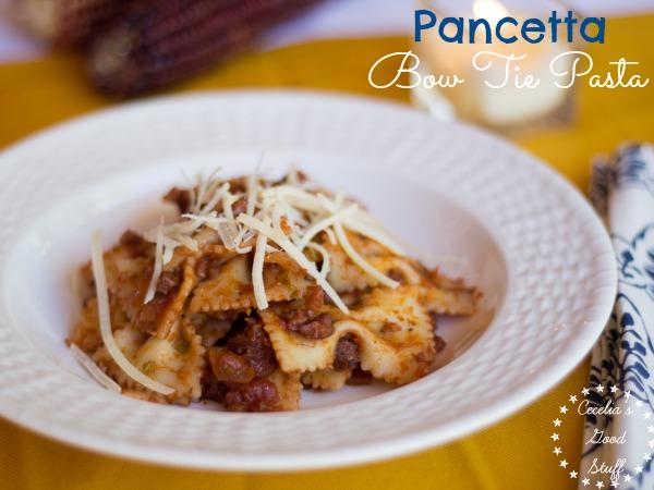Pancetta Bow Tie Pasta