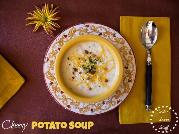 Cheesy Potato Soup-Image