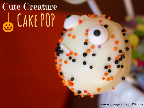 Cute Creature Cake Pop