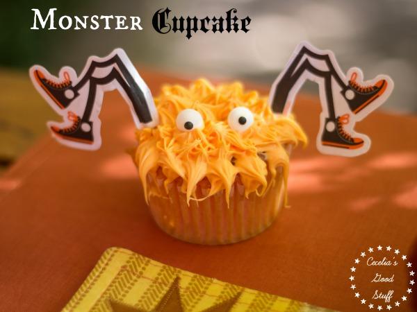 Other Halloween Recipe Ideas Spider Cupcake CeceliasGoodStuff.com Good Food for Good People