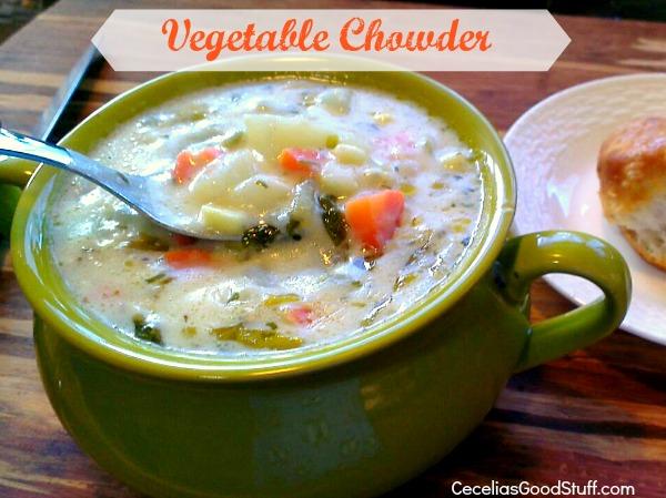 Garden Vegetable Chowder Recipes — Dishmaps