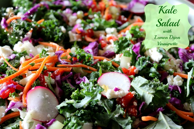 Kale Salad & Lemon Herb Vinaigrette