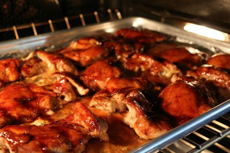 Easy Oven Baked Thai Chicken