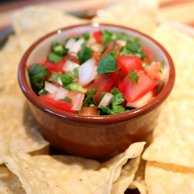 Traditional Mexican Fresh Salsa, this Pico de Gallo recipe will have you coming back for more. | CeceliasGoodStuff.com | Good Food for Good People