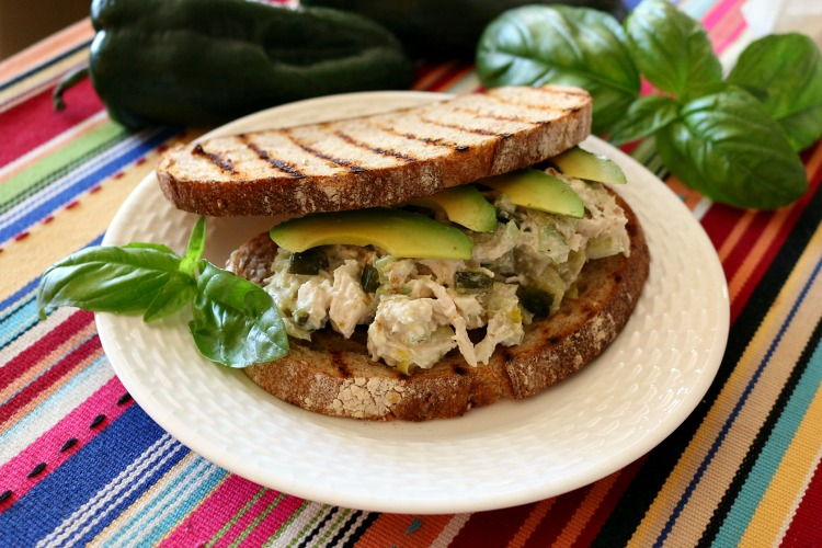 Southwestern Chicken Salad Sandwich