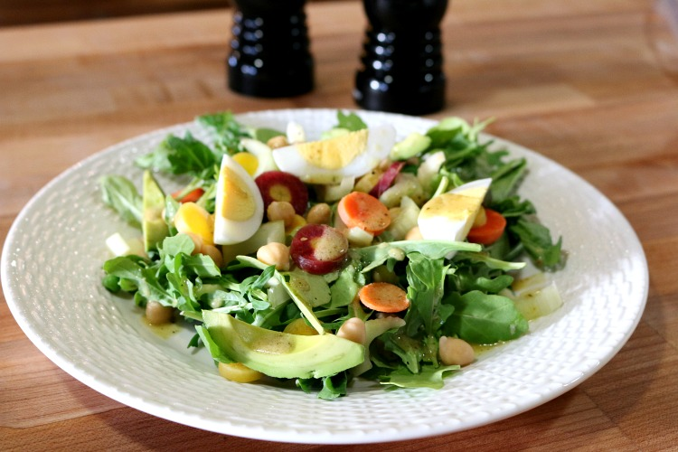 Arugula Salad with Dijon Vinaigrette