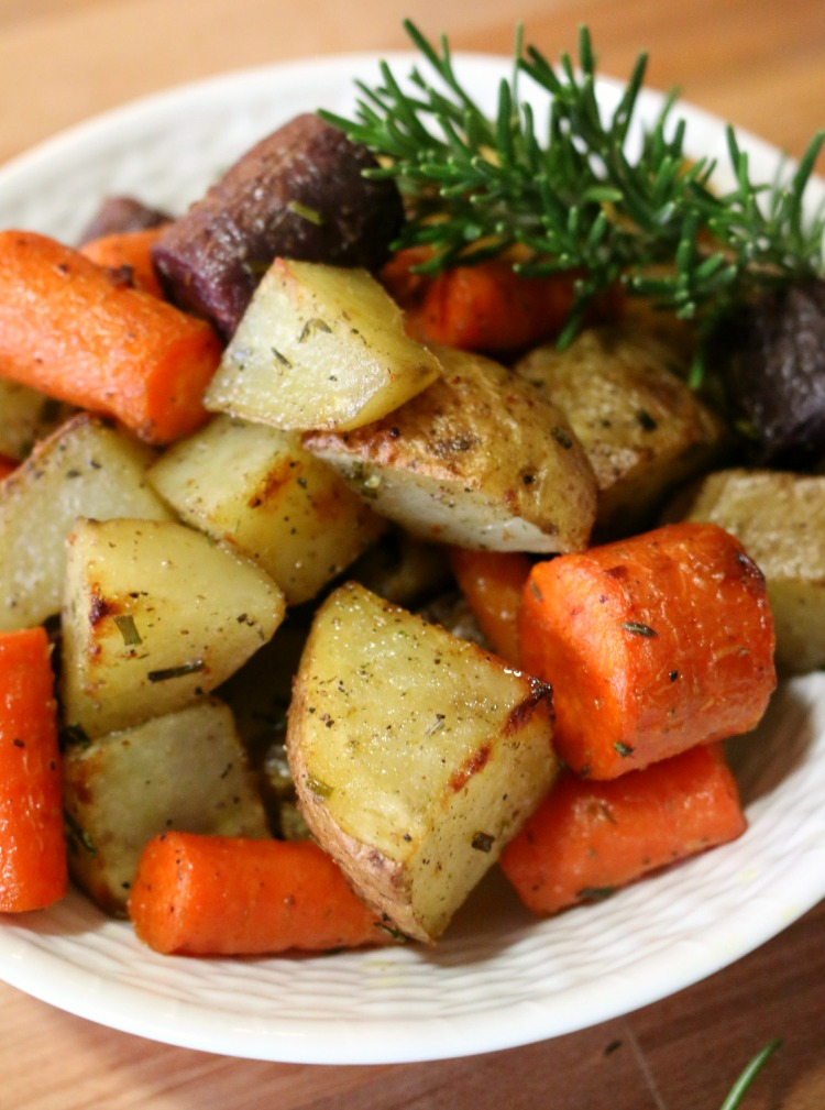 Rosemary Potatoes & Carrots
