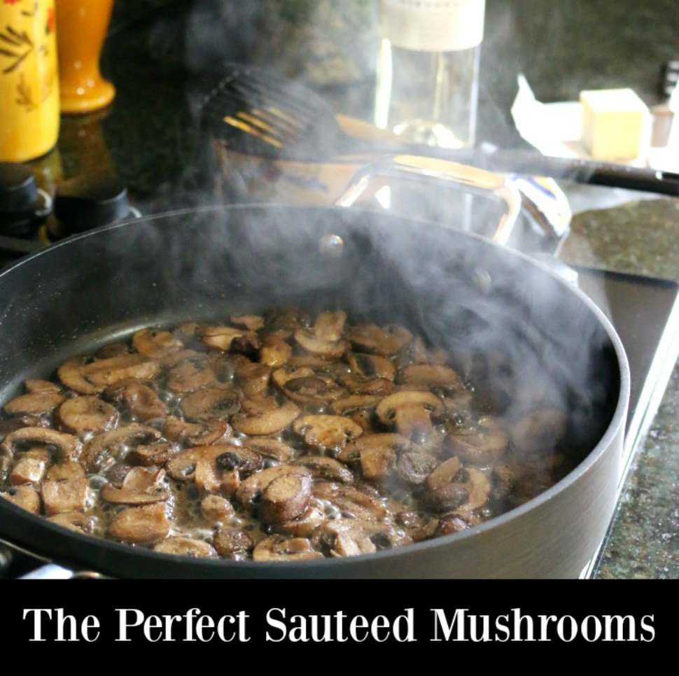 "Recipe for ""The Perfect Sauted Mushrooms"" by CeceliasGoodStuff.com"