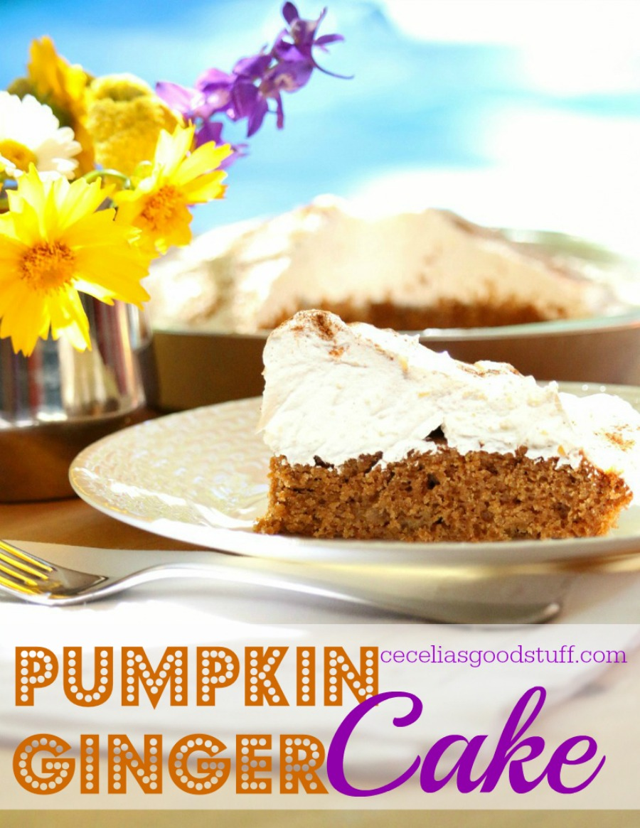 Recipe - Pumpkin Ginger Cake