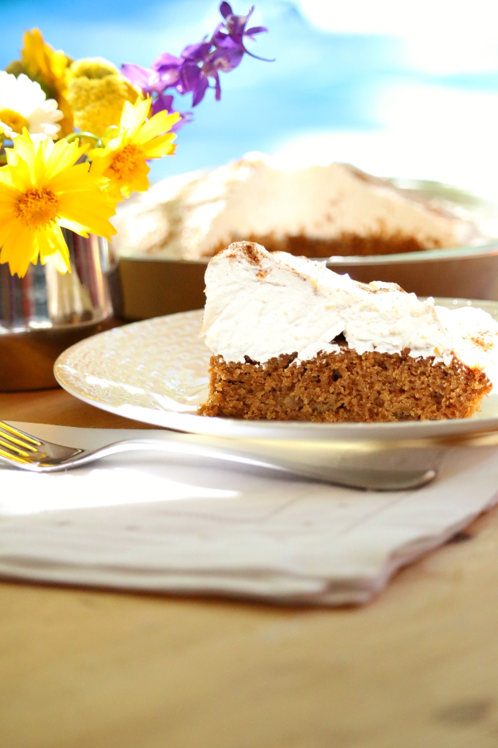 Pumpkin Ginger Cake
