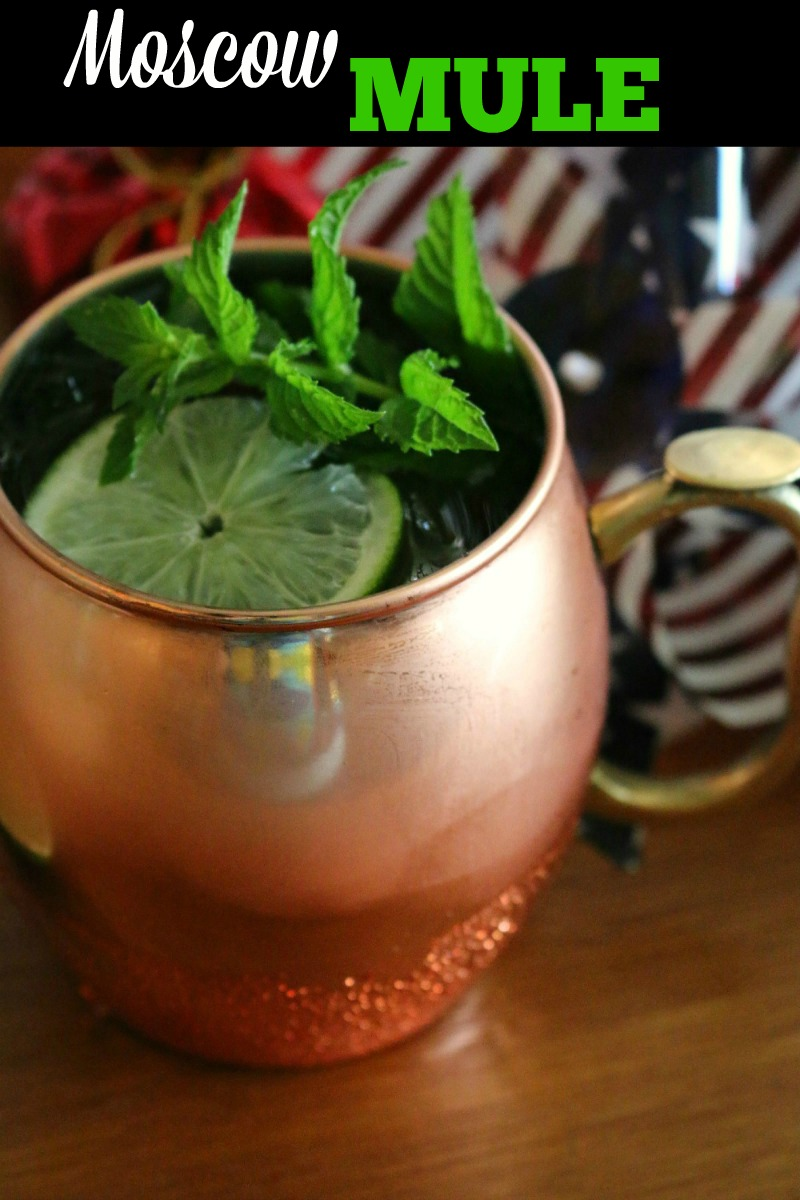 The best Moscow Mule Cocktail Recipe