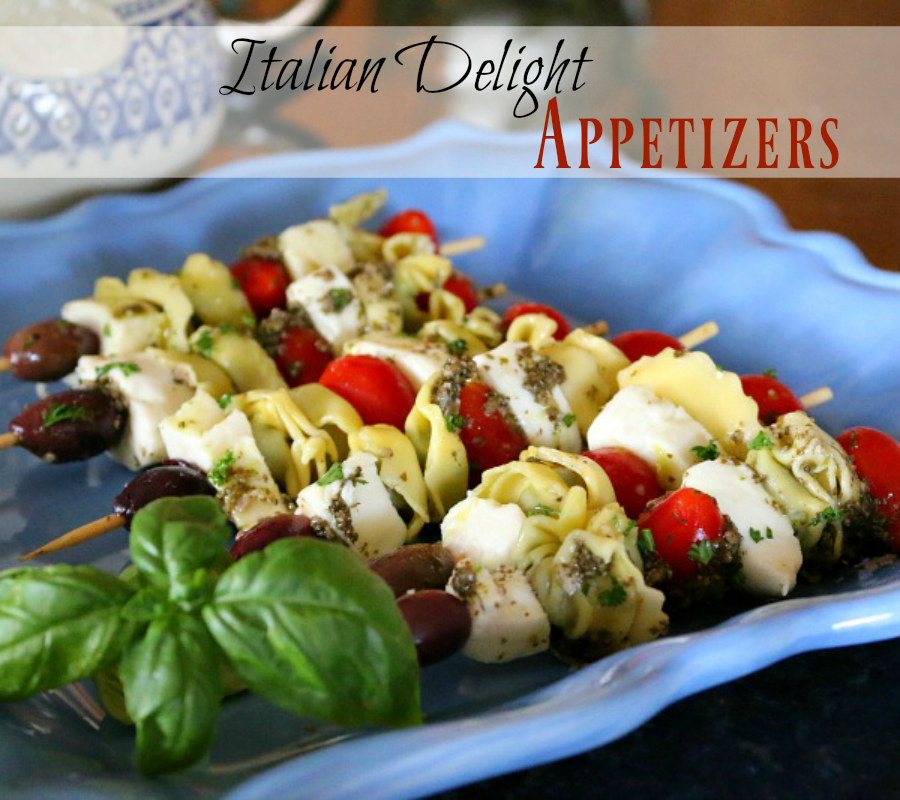 Scrumptious Italian Delight Appetizers - great party food!