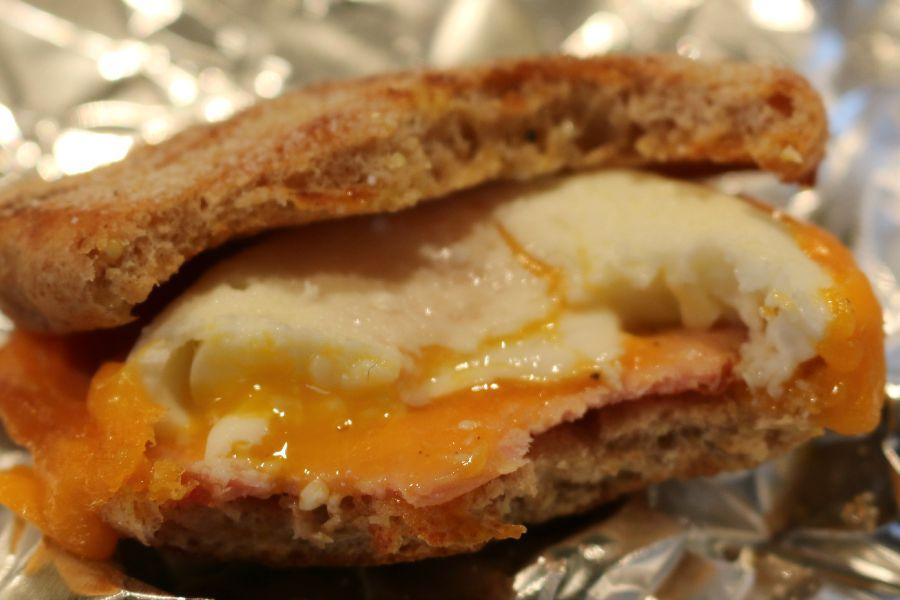 Easy & Quick Breakfast Sandwich