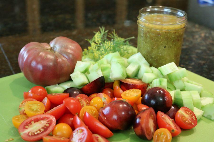 Garden Heirloom Tomatoes