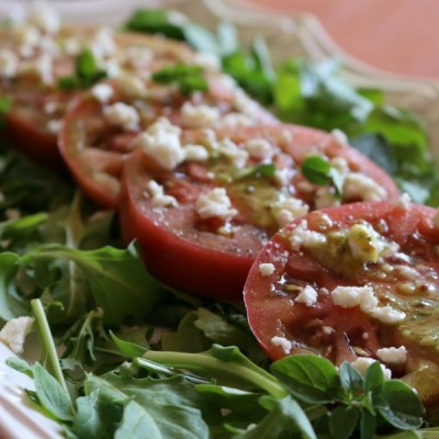 Heirloom Tomato & Arugula Salad