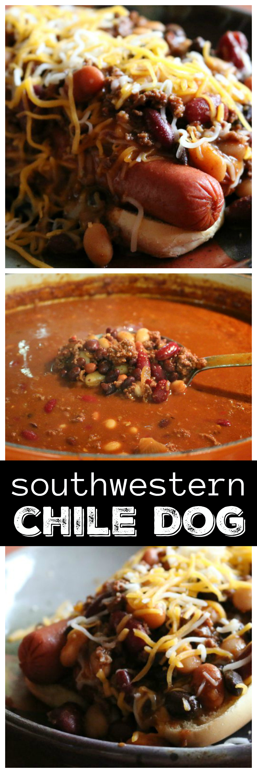 Southwestern Style Chili Dog CeceliasGoodStuff.com | Good Food for Good People