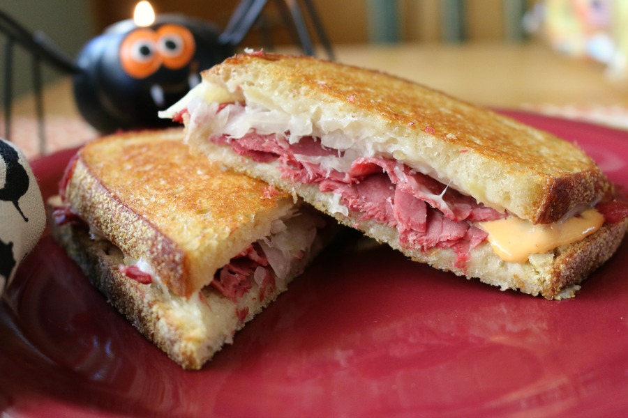 The Ultimate Corn Beef Sandwich