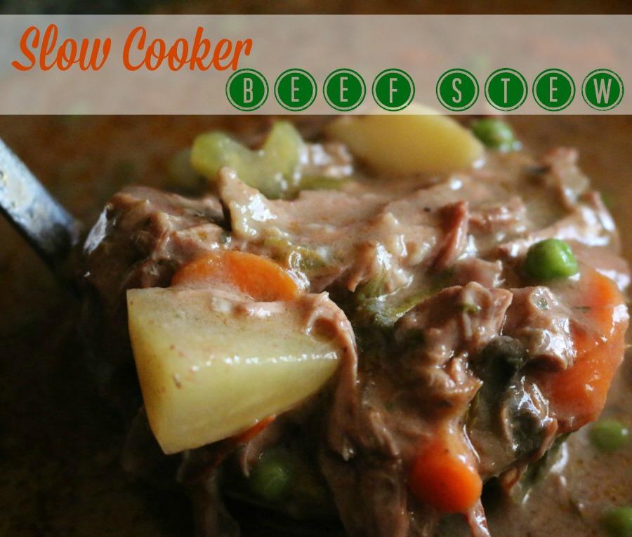 Slow Cooker Recipe - Crock Pot Beef Stew