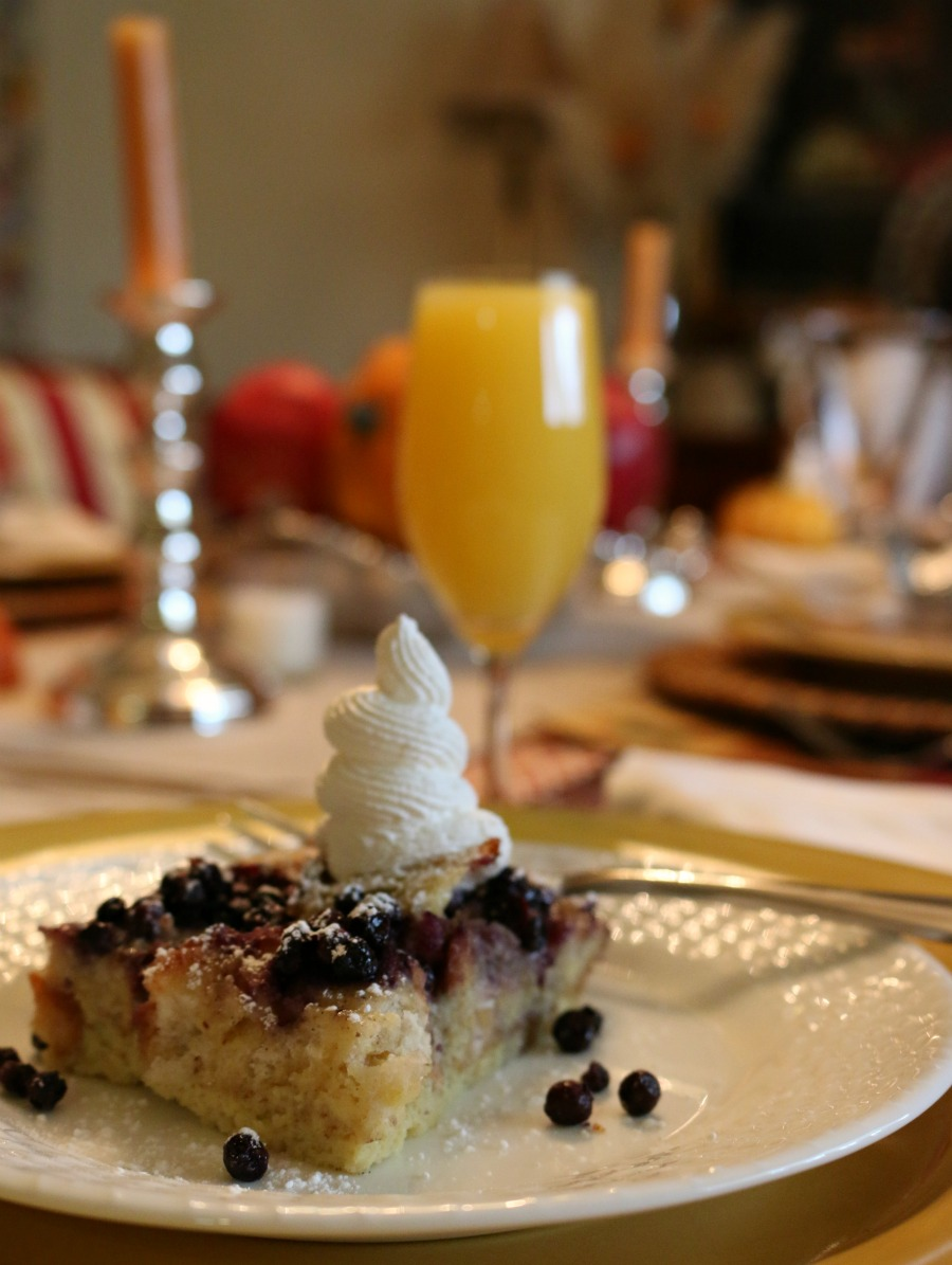 Wild Blueberry French Toast Casserole