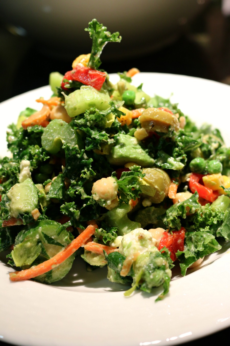 Avocado Kale Salad