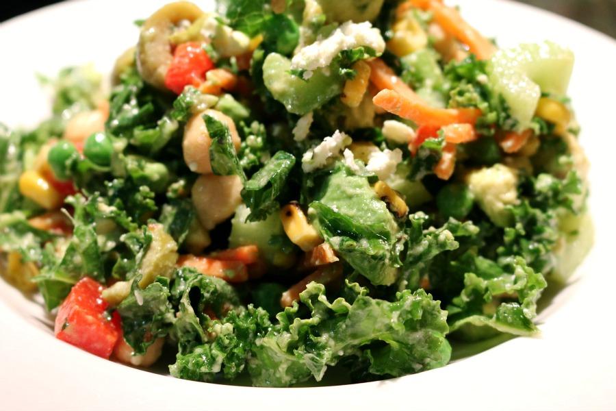 how to make a good kale salad
