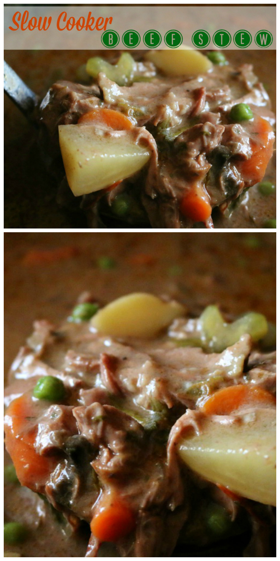 Slow Cooker Beef Stew - Simple and delicious recipe | www.ceceliasgoodstuff.com