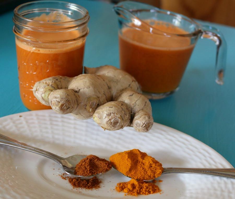 Wellness Ginger Carrot Juice