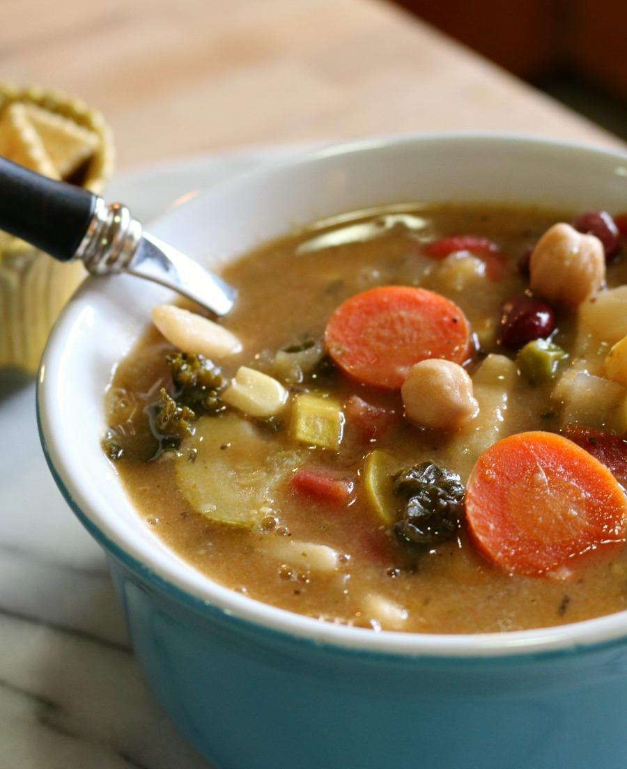 Hearty Homemade Vegetable Soup