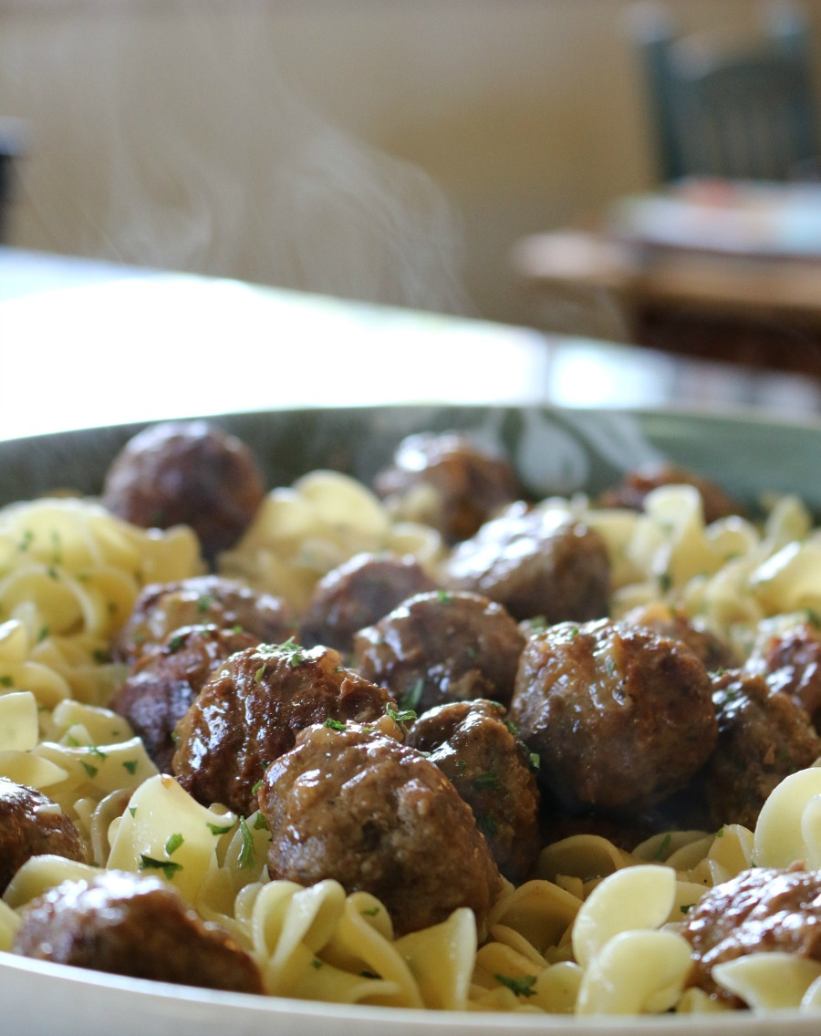 Best Ever Swedish Meatballs