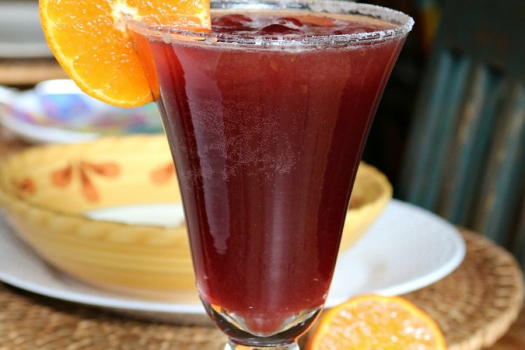 Natural Sparkling Grape & Mandarin Soda
