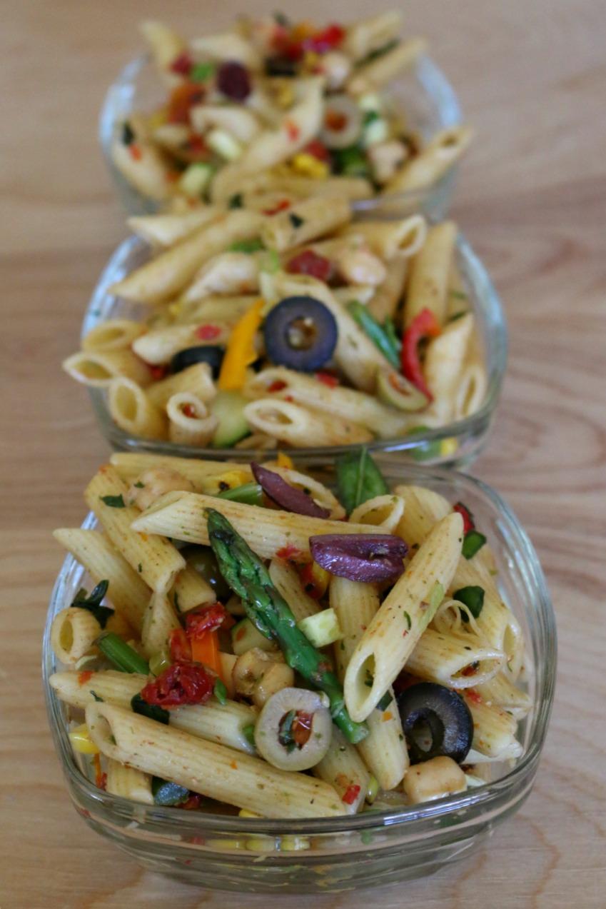 Three Olive Pasta Salad