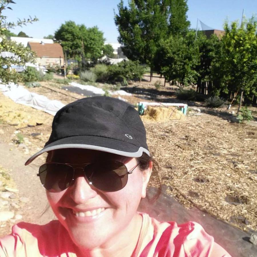 Cecelia Dardanes Sandia Prep Garden