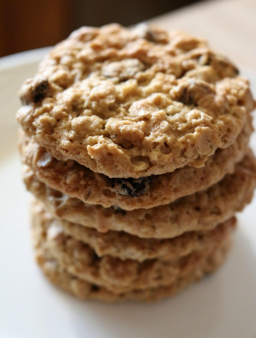 Oatmeal Cookies Three Ways