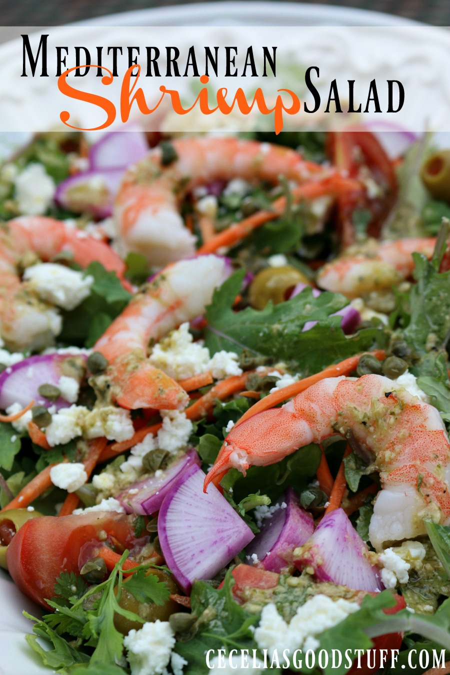 Recipe for Mediterranean Shrimp Salad
