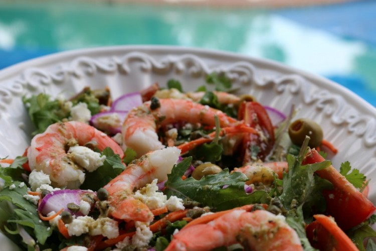 Shrimp Mediterranean Salad
