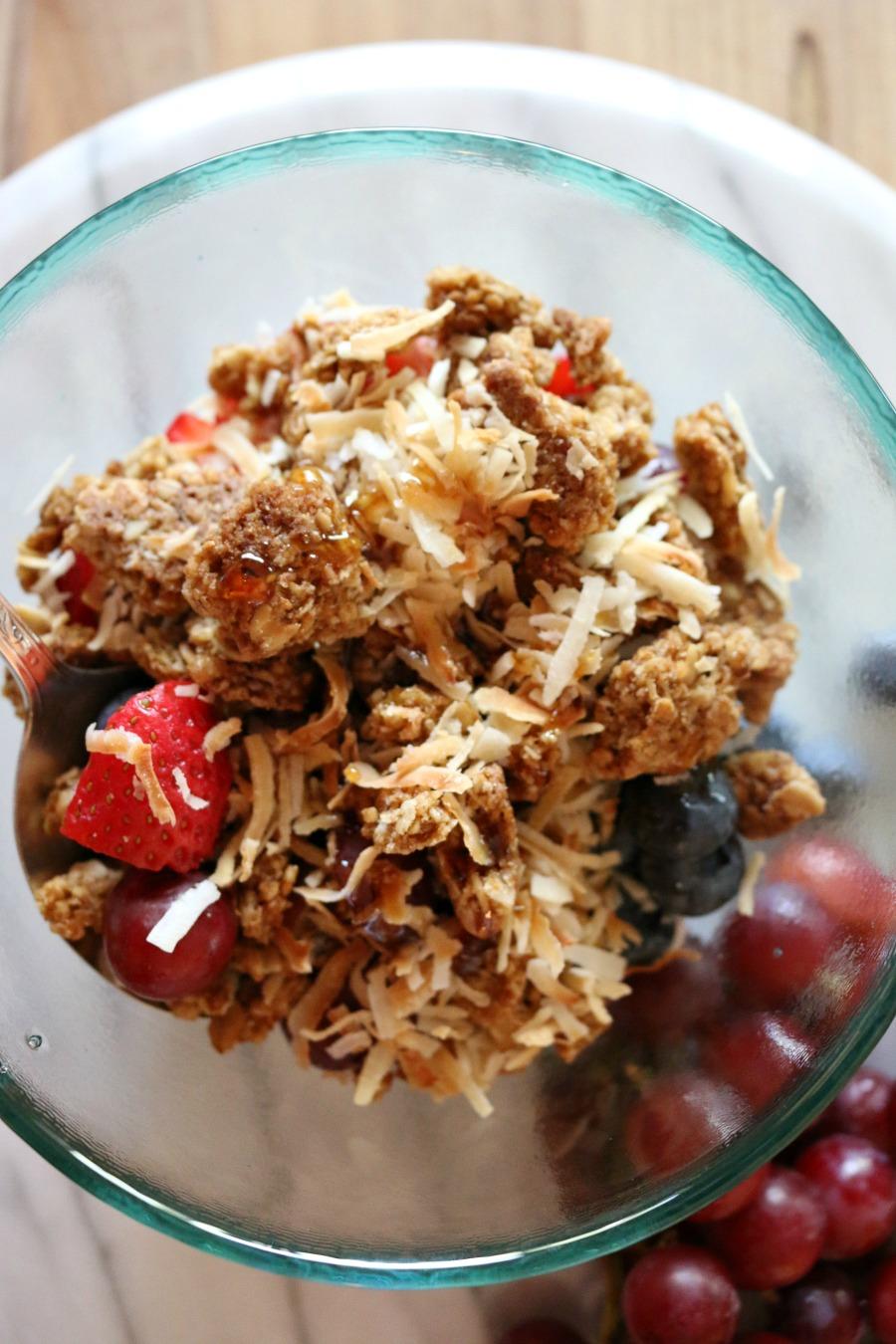 Yogurt Fruit Breakfast Bowl