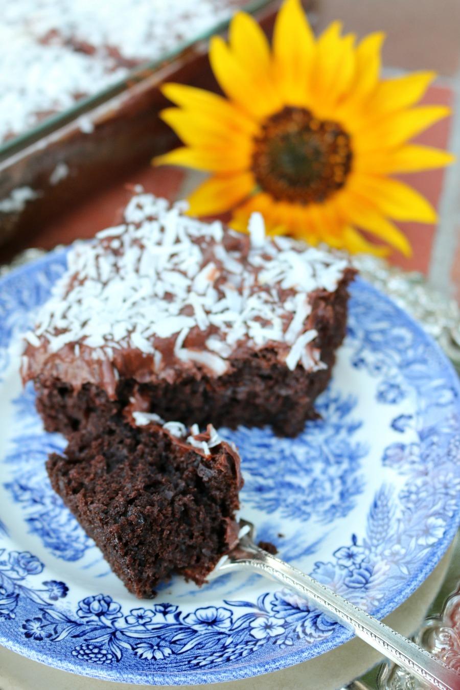 Nearly Homemade Chocolate Cake