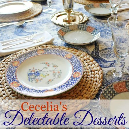 Here is my EBook with 40 pages of delicious dessert recipes and easy to follow directions. || www.ceceliasgoodstuff.com