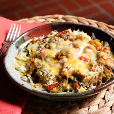 Southwestern Style Hash Browns