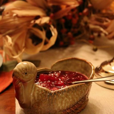 No Fail Cranberry Sauce